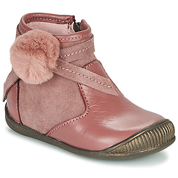 Zapatos Niña Botas de caña baja Little Mary FRANCOISE Rosa