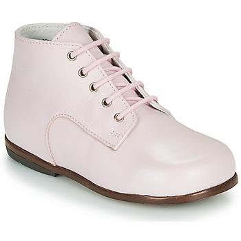 Zapatos Niña Botas de caña baja Little Mary MILOTO Rosa