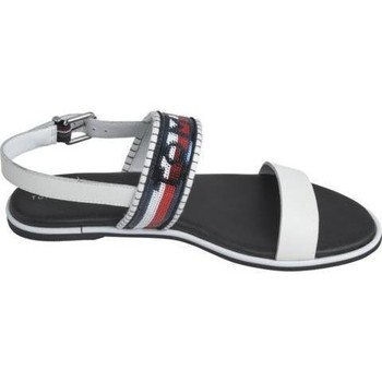 Zapatos Mujer Sandalias Tommy Hilfiger Sandalias Tommy Sequins White