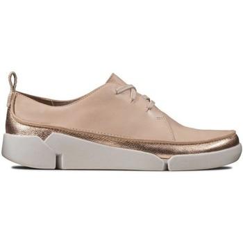 Zapatos Mujer Derbie Clarks Pisos Tri Clara Pink