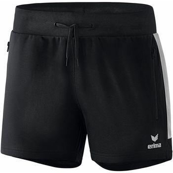 textil Mujer Shorts / Bermudas Erima Short femme  Worker Squad noir/blanc