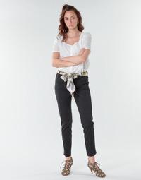 textil Mujer Pantalones con 5 bolsillos Betty London NIAOUTE Negro