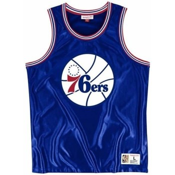 textil Hombre Camisetas sin mangas Mitchell And Ness  Azul