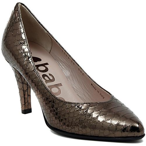 Zapatos Mujer Zapatos de tacón Le Babe DECOLTE STAMPATO ACCIAIO    104,1
