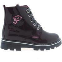 Zapatos Niños Derbie & Richelieu Pablosky Botas  489899 Burdeos Rojo