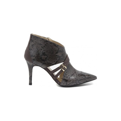 Zapatos Mujer Low boots Café Noir CAFèNOIR  PITONATO PINTA  GRIGIO     87,1