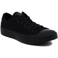 Zapatos Zapatillas bajas Converse ALL STAR   OX BLACK MONOCROME     84,4