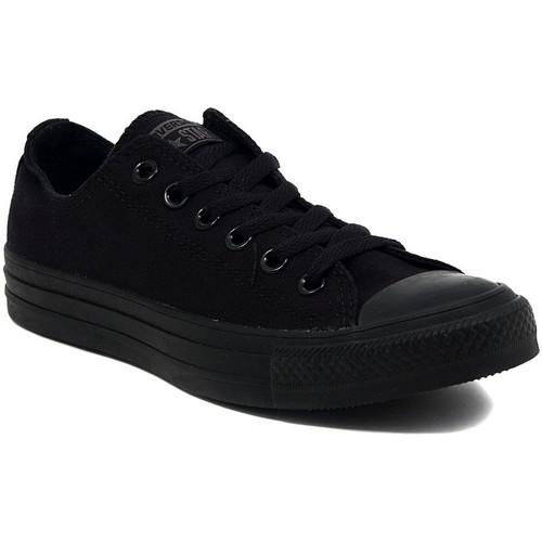Zapatos Zapatillas bajas Converse ALL STAR  OX BLACK MONOCROME Multicolore
