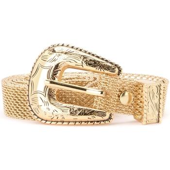 Accesorios textil Mujer Cinturones B-Low The Belt Cinturón  modelo Baby Frank Mesh oro Dorado