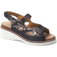 Zapatos Mujer Sandalias Calzamedi THANA NEGRO