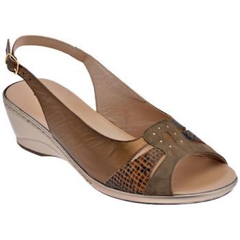 Zapatos Mujer Sandalias Confort  Marrón