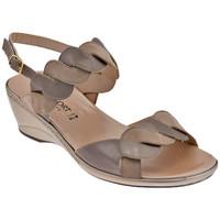 Zapatos Mujer Sandalias Confort  Beige