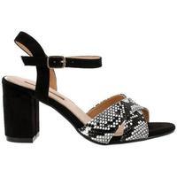 Zapatos Mujer Sandalias Blogger BO-13981 marrón
