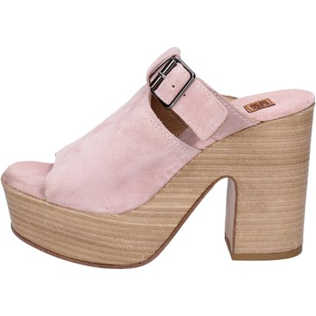 Zapatos Mujer Sandalias Moma sandalias gamuza rosa