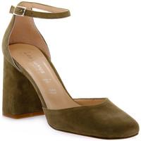 Zapatos Mujer Zapatos de tacón Priv Lab KAKY CAMOSCIO Verde