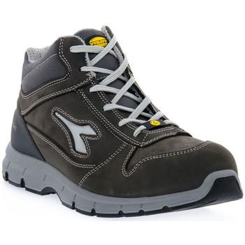 Zapatos Hombre Senderismo Diadora RUN II HI S3 SRC ESD Grigio