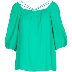 textil Mujer Tops / Blusas See U Soon Tops / T-shirts 20111195 verde