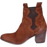 Zapatos Mujer Botines Moma botines gamuza marrón