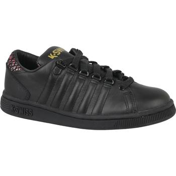 Zapatos Niños Zapatillas bajas K-Swiss Lozan III TT Noir