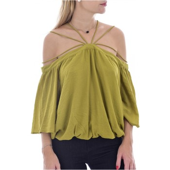textil Mujer Tops / Blusas See U Soon Tops / T-shirts 20111182 - Mujer verde