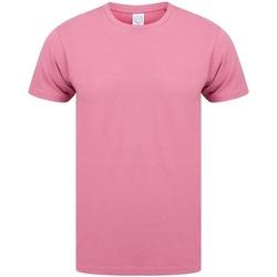 textil Hombre Camisetas manga corta Skinni Fit SF121 Rojo