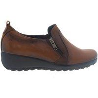 Zapatos Mujer Mocasín Fluchos Zapatos  F1069 Cuero Marrón