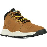 Zapatos Niño Botas de caña baja Timberland Brooklyn Alpine Chukka Marrón