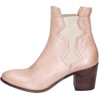 Zapatos Mujer Botines Moma botines cuero rosa