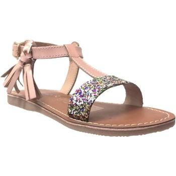 Zapatos Niña Sandalias L'atelier Tropezien Il112 Rosa metalizado