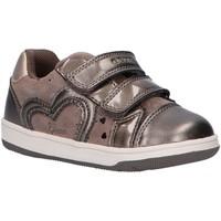 Zapatos Niña Zapatillas bajas Geox B041HA 007NF B NEW FLICK Gris