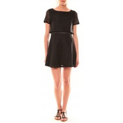 textil Mujer Vestidos cortos La Vitrine De La Mode Robe LC-0461 By La Vitrine Noire Negro