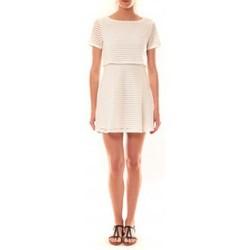 textil Mujer Vestidos cortos La Vitrine De La Mode Robe LC-0461 By La Vitrine Blanche Blanco