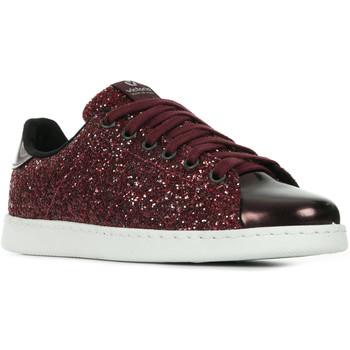 Zapatos Mujer Zapatillas bajas Victoria Deportivo Tennis Glitter Y Espero Rojo