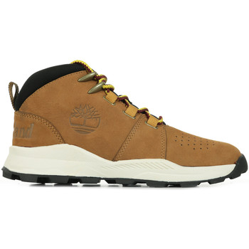 Zapatos Niño Botas de caña baja Timberland Brooklyn City Mid Marrón
