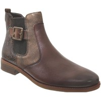 Zapatos Mujer Botines Remonte Dorndorf R6382 Cuero marrón medio