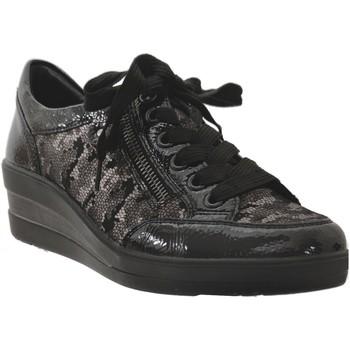 Zapatos Mujer Derbie Remonte Dorndorf R7209 Negro brillante