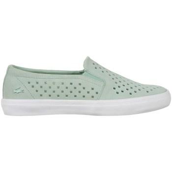 Zapatos Mujer Slip on Lacoste Gazon Slip ON 216 1 Caw Verdes