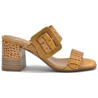 Zapatos Mujer Zuecos (Mules) Alpe VALERY Mostaza