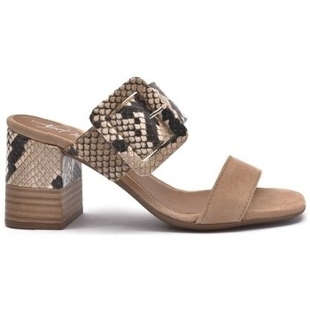 Zapatos Mujer Zuecos (Mules) Alpe VALERY Beig