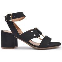 Zapatos Mujer Sandalias Alpe SANTORINI Negro
