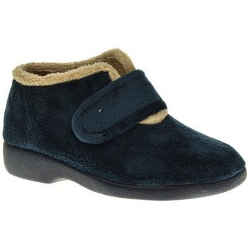 Zapatos Mujer Pantuflas Garzon 3895 Azul