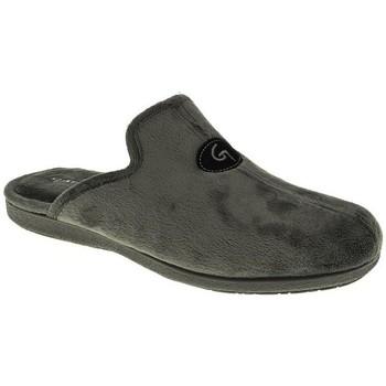 Zapatos Hombre Pantuflas Garzon 6101 Gris