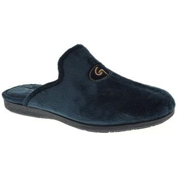 Zapatos Hombre Pantuflas Garzon 6101 Azul