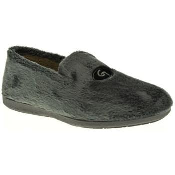 Zapatos Hombre Pantuflas Garzon 6501 Gris