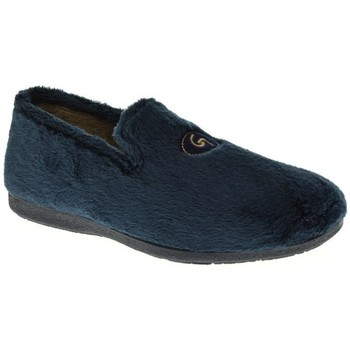 Zapatos Hombre Pantuflas Garzon 6501 Azul
