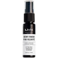 Belleza Fijadores Nyx Dewy Finish Setting Spray Mini