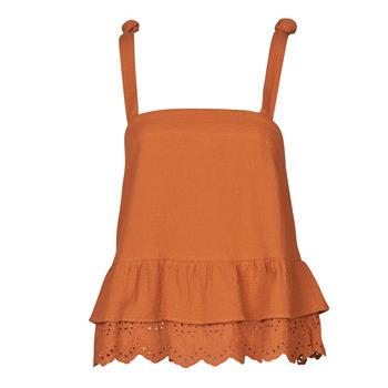 textil Mujer Tops / Blusas Betty London OULINE Rojizo