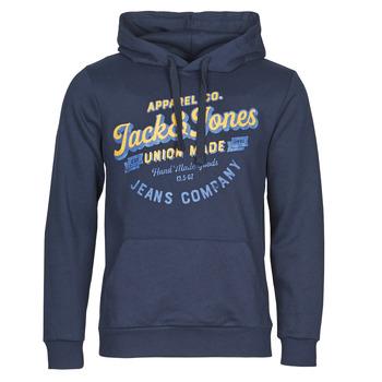textil Hombre Sudaderas Jack & Jones JJEJEANS Marino