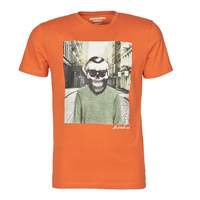 textil Hombre Camisetas manga corta Jack & Jones JORSKULLING Naranja