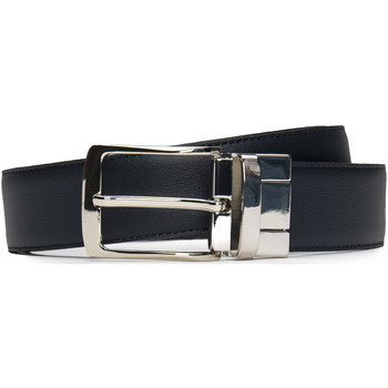 Accesorios textil Hombre Cinturones Nae Vegan Shoes BeltAlp Negro